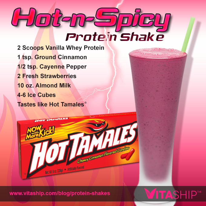 Hot-n-Spicy Protein Shake
