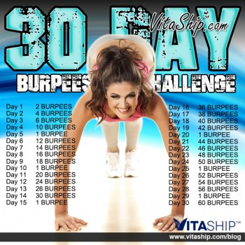 30-Day Burpees Challenge
