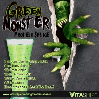 Green Monster Protein Shake