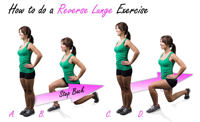 Reverse Lunge Exercise