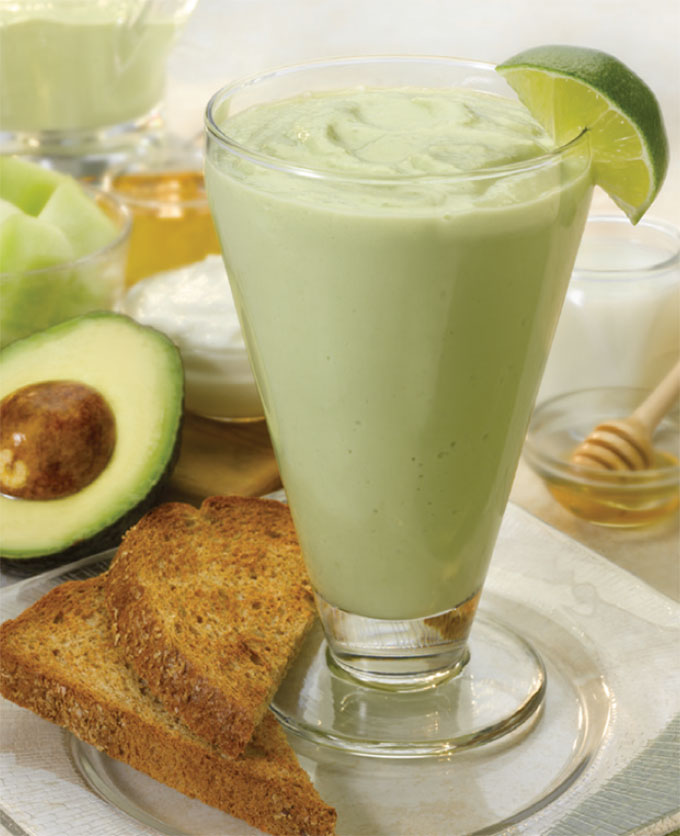 Avocado Melon Smoothie
