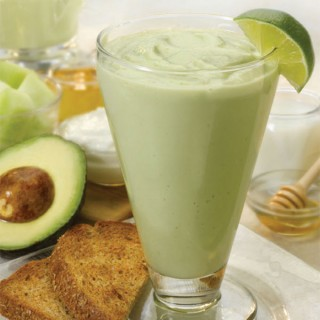 Avocado Melon Smoothies