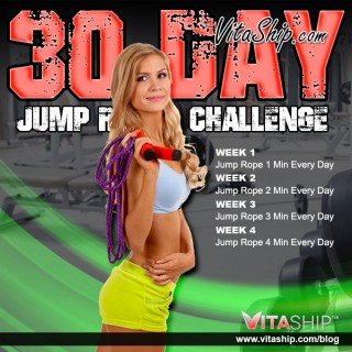 30-Day Jump Rope Challenge