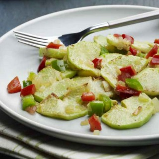 Chayote Salad with Lemony Hot Sauce