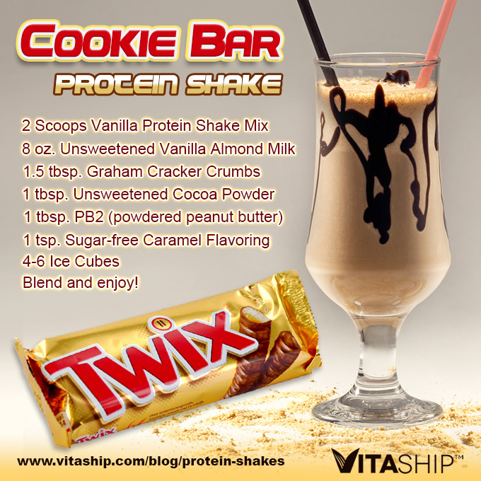 Cookie Bar Protein Shake Recipe